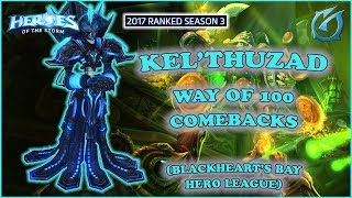 Grubby | Heroes of the Storm - Kel'thuzad - Way of 100 Comebacks - HL 2017 S3 - Blackheart's Bay