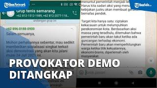 Grup WhatsApp Klub Tenis Jadi Perancang Demo