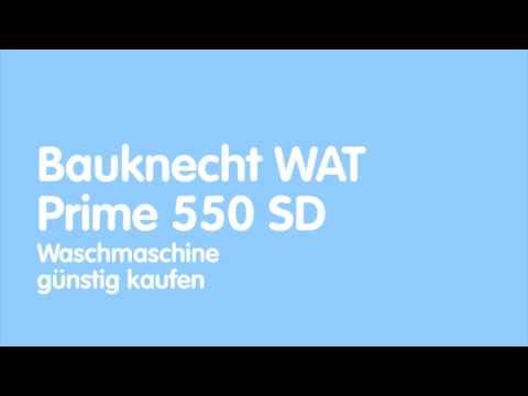 Bauknecht WAT Prime 550 SD Waschmaschine