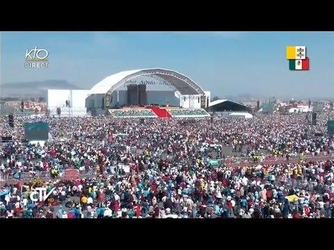 Messe et Angélus du Pape François à Ecatepec
