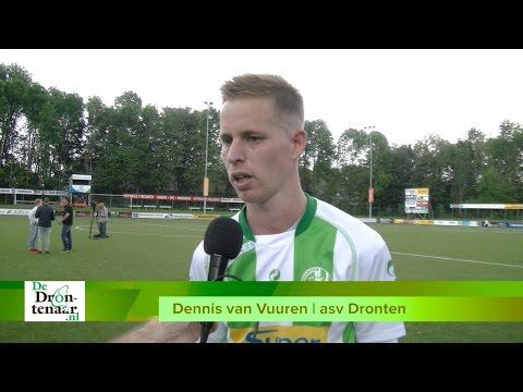 VIDEO | Dennis van Vuuren verlengt Asv Dronten-loopbaan met 2 weken