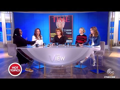 TRUMP Asked To Take Down FAKE Time Mag Covers - The View