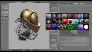 Blender 2.8 Development Demo 3 - Clay-Engine and Collections Teaser