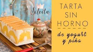 Tarta fría de Yogurt y Piña - Receta - MegaSilvita *Tienda y Blog*