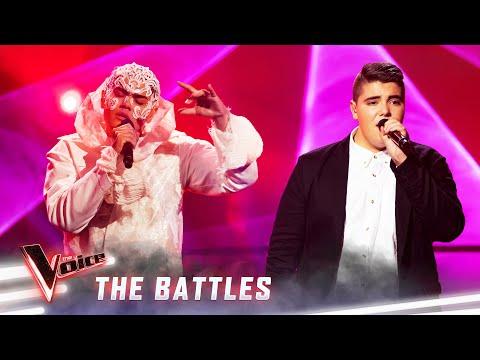 The Battles: Sheldon Riley v Jordan Anthony 'Praying' | The Voice Australia 2019