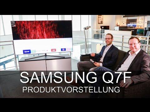 Samsung TV 2017 Q7F Produktvorstellung 65Q7F - Thomas Electronic Online Shop - 75Q7F 65Q7F 55Q7F