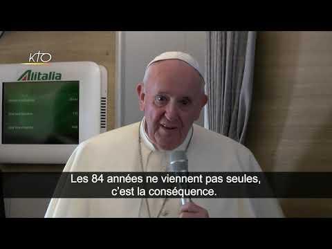 La fatigue du Pape (conférence de presse)