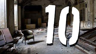 10 Strasznych, Opuszczonych Miejsc [TOPOWA DYCHA]