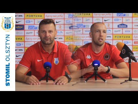 Trenerzy po meczu Stomil Olsztyn - Chrobry Głogów 1:2