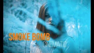 SMOKE BOMB CINEMATIC   GH5 Slow Motion 180 FPS   Jeep Renegade   DJI Mavic Pro   Orange & Teal