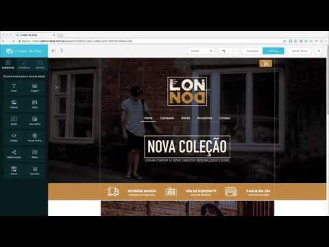 Personalize sua loja virtual