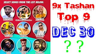 9x Tashan Top 9 Of This Week- December 30, 2018   Latest Punjabi Songs 2018  