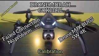 Drone MJX Bugs 5W 4K | gagal koneksi | cara koneksi | cara menerbangkan drone | takeoff Landing