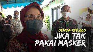 Lurah Sumber Solo Wajibkan Anak Buahnya Pakai Masker, Jika Tak Pakai Masker Didenda Rp5000