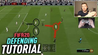 THE END GAME DEFENDING TUTORIAL - DEFEND LIKE A PRO IN FIFA 20