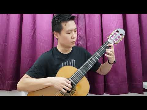 [Classical Guitar 🎸 Demo] 《Romanza》- Spanish Romance 🇪🇦❤ by Kenny