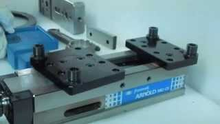 Clamping of multiple irregular work-pieces | ARNOLD MB2 DURMAK