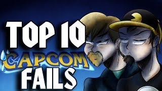 Top Ten Worst Capcom FAILS ft. TheQuarterGuy