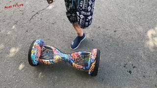 В ногу со временем/ обучение у 10 летнего мальчика/ гироскутер/