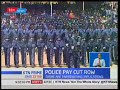 Police pay cut row threatens the country's security docket