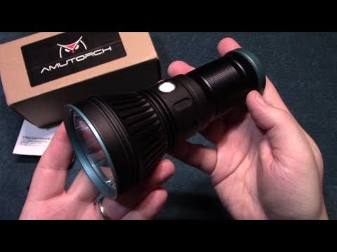 AmuTorch AM33 Flashlight Review!