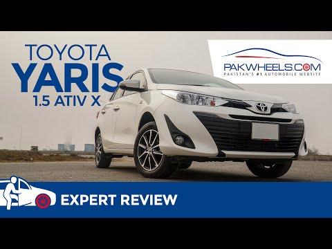 Toyota Yaris 1.5 ATIV X | Expert Review | PakWheels