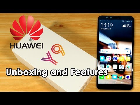 Huawei Y9 2018 Unboxing and Features
