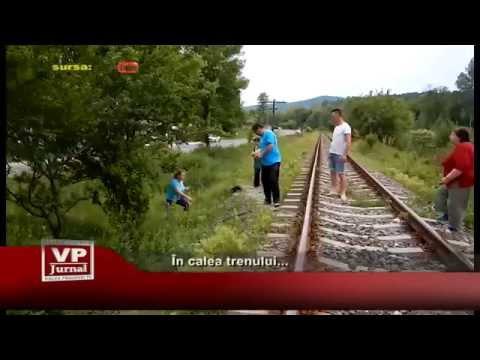 In calea trenului…