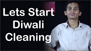 Lets Start Diwali Cleaning