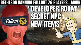 Bethesda Bans Fallout 76 Players for Entering the Secret