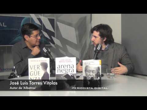 Jose Luis Torres Vitolas, autor de Albatros. 25-2-2014