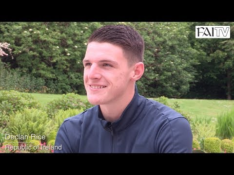 Ireland's Declan Rice Reflects on a Memorable Week