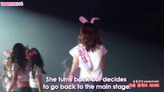 "YoonYul 윤율 Fancam Moment #45 - ""When Yoona Gets Jealous"" [100417] SNSD 1st Asia Tour Shanghai"