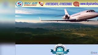 Get Fast and Safe Air Ambulance Service in Ranchi and Raipur by Sky
