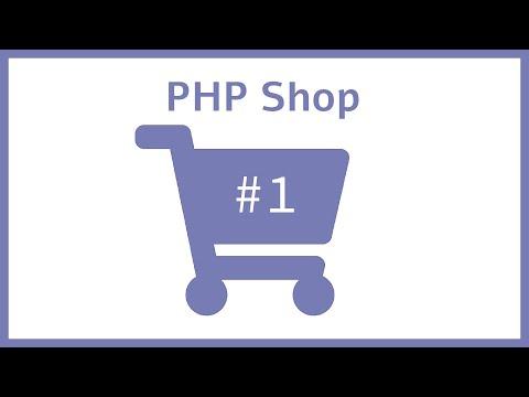 Erstes Layout - PHP Online Shop programmieren für Anfänger    Part1