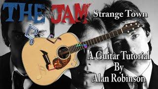 Strange Town - The Jam - Acoustic Guitar Lesson (Ft. my son Jason on lead etc.)