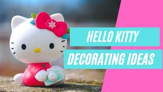 25+ Super Easy DIY Hello Kitty Party Decoration Ideas Favors!