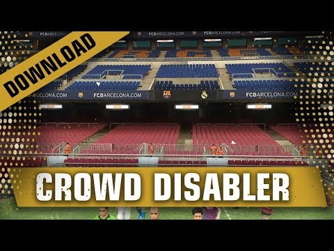 PES 2019 - Disable Crowds and Replay Logo - смотреть онлайн