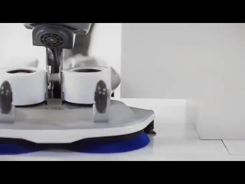 I-mop - Komag Bozen präsentiert neue Bodenreinigungsmaschine