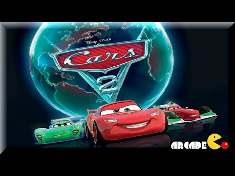Disney Pxar Cars 2 - World Grand Prix Read And Race- Lighting McQueen Cars Toon Game