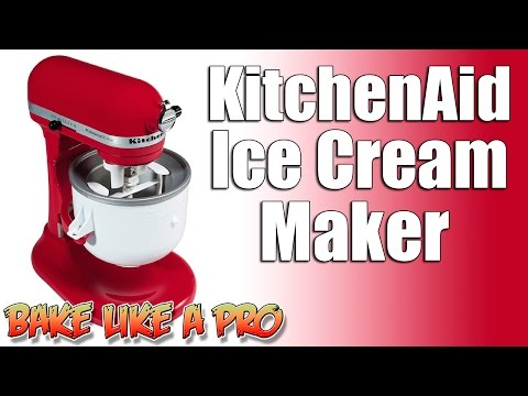 Video KitchenAid Ice Cream Maker Review