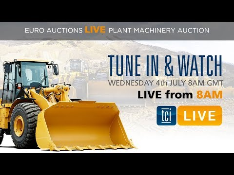 The Construction Index Live at Euro Auctions Day 1