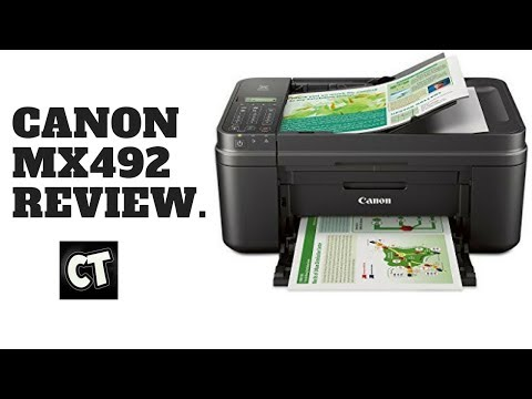 The Canon MX492 Printer/Scanner Combo Review. ONLY $40???