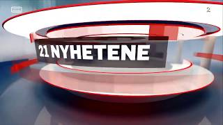 TV2 21 Nyhetene Intro / Outro  (HD)