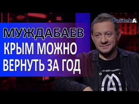 , title : 'КРИМ можна повернути за рік. Айдер Муждабаєв / Politeka Online'