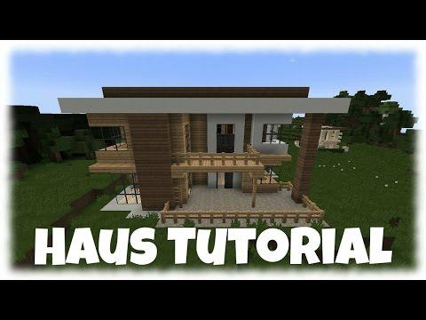 Minecraft Modernes Haus Bauen X TutorialAnleitung - Minecraft schones haus bauen youtube