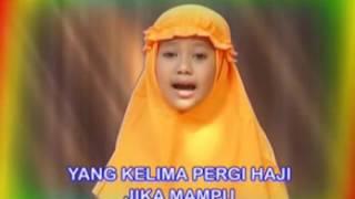 Lagu Anak  <b>Rukun Islam</b>
