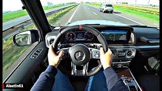 The Mercedes G Class G63 AMG 2019 Test Drive
