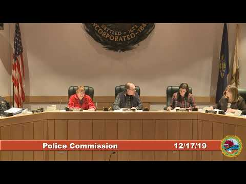 Police Commission 12.19.2019