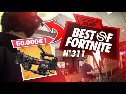 BEST OF SOLARY FORTNITE #311 ► SOLARY SE FAIT VOLER UNE CAMERA A 50000€ ??